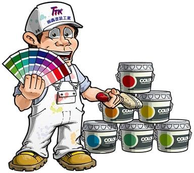 轟塗装工業キャラクター