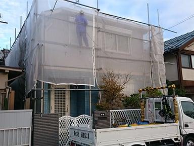 轟塗装工業現場施工風景